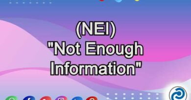 NEI Meaning in Snapchat