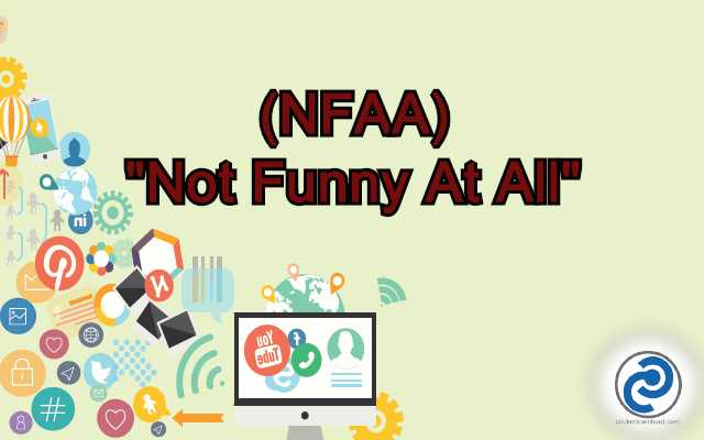 NFAA Meaning in Snapchat