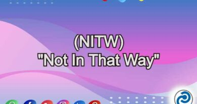 NITW Meaning in Snapchat