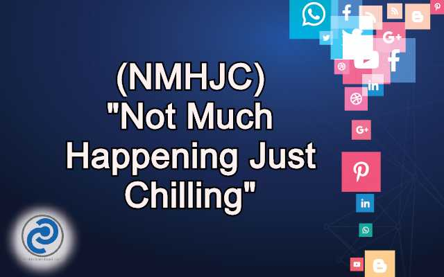 NMHJC Meaning in Snapchat