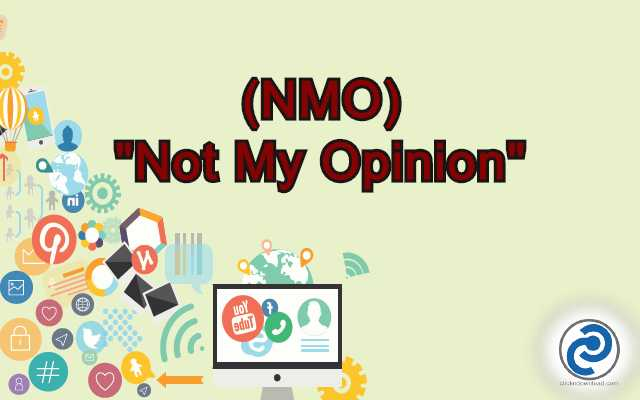 NMO Meaning in Snapchat