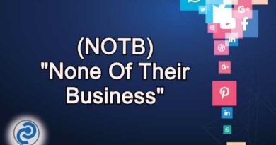 NOTB Meaning in Snapchat