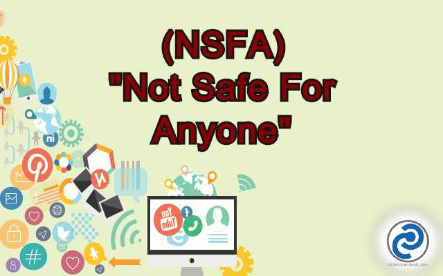 NSFA Meaning in Snapchat