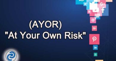 AYOR Meaning in Snapchat