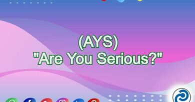 AYS Meaning in Snapchat