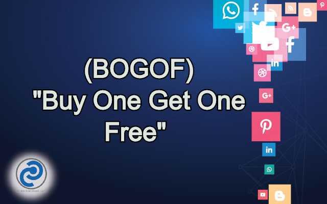 BOGOF Meaning in Snapchat
