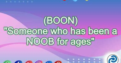BOON Meaning in Snapchat