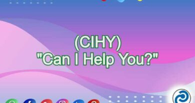 CIHY Meaning in Snapchat