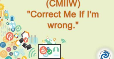 CMIIW Meaning in Snapchat