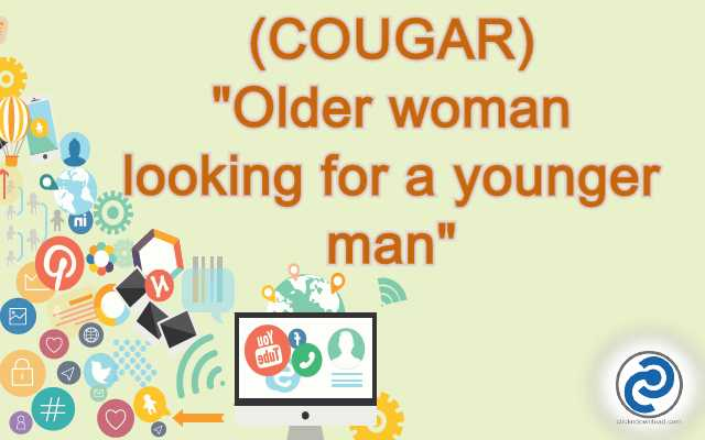 COUGAR Meaning in Snapchat