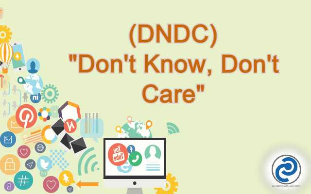 DNDC Meaning in Snapchat