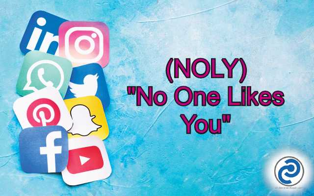 NOLY Meaning in Snapchat