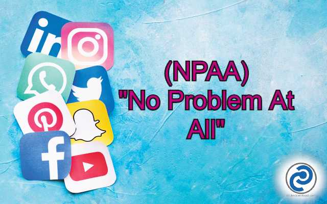 NPAA Meaning in Snapchat