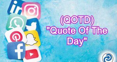 QOTD Meaning in Snapchat