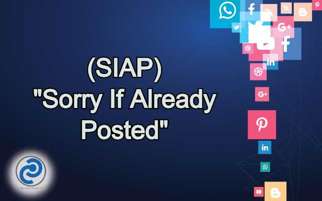 SIAP Meaning in Snapchat