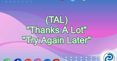 TAL Meaning in Snapchat