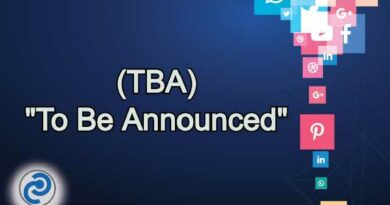 TBA Meaning in Snapchat