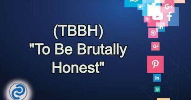 TBBH Meaning in Snapchat