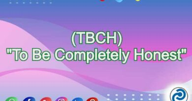 TBCH Meaning in Snapchat