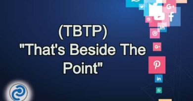 TBTP Meaning in Snapchat