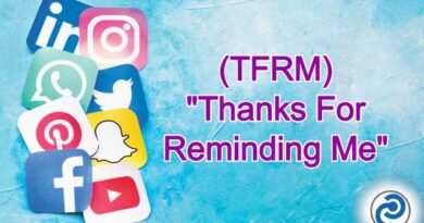 TFRM Meaning in Snapchat