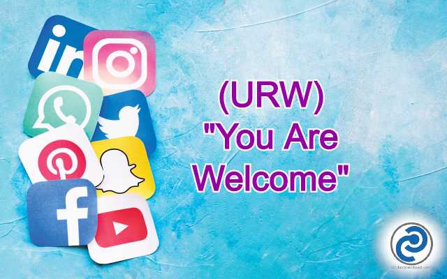 URW Meaning in Snapchat