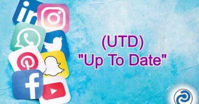 UTD Meaning in Snapchat