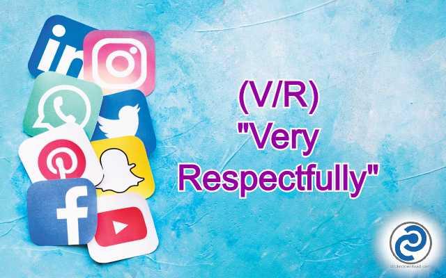 V/R Meaning in Snapchat