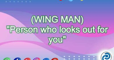 WING MAN Meaning in Snapchat