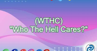 WTHC Meaning in Snapchat