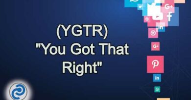 YGTR Meaning in Snapchat