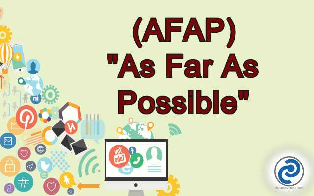 AFAP Meaning in Snapchat,