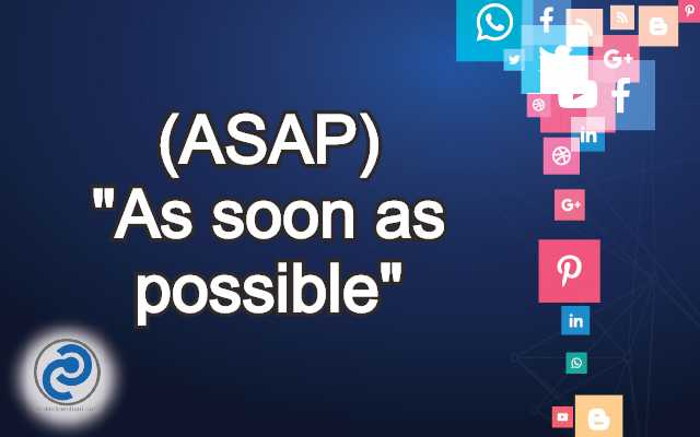 ASAP Meaning in Snapchat,