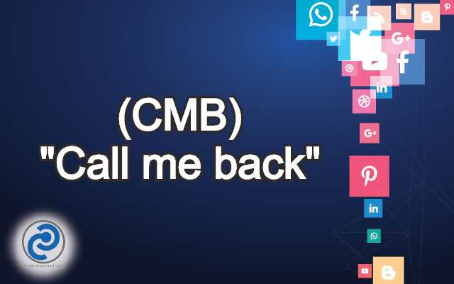 CMB Meaning in Snapchat,