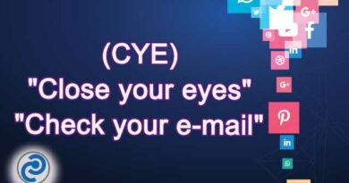 CYE Meaning in Snapchat,