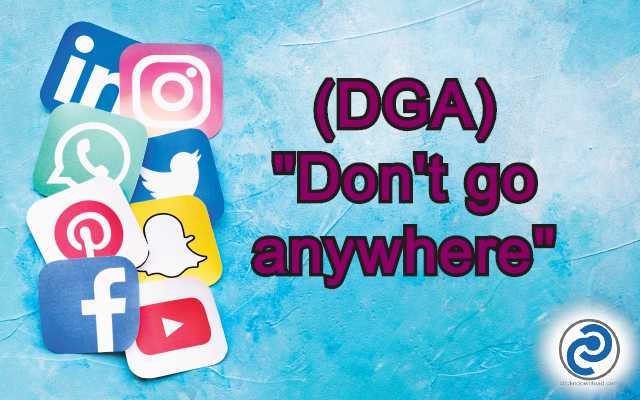 DGA Meaning in Snapchat,
