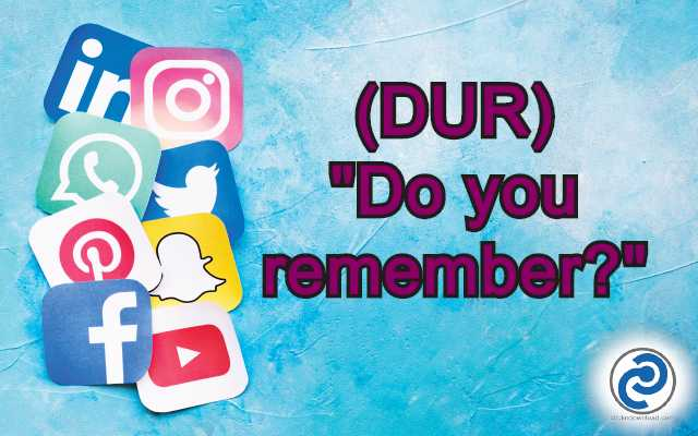 DUR Meaning in Snapchat,