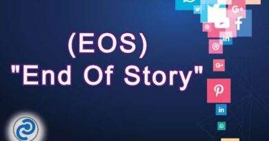 EOS Meaning in Snapchat,