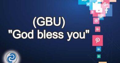 GBU Meaning in Snapchat,