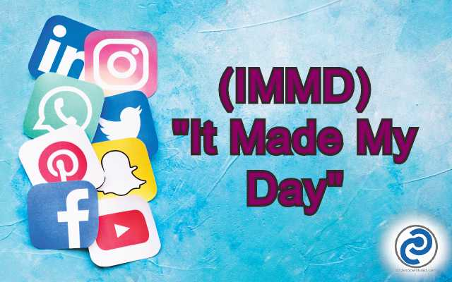 IMMD Meaning in Snapchat,