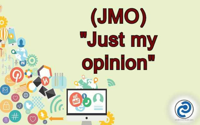 JMO Meaning in Snapchat,