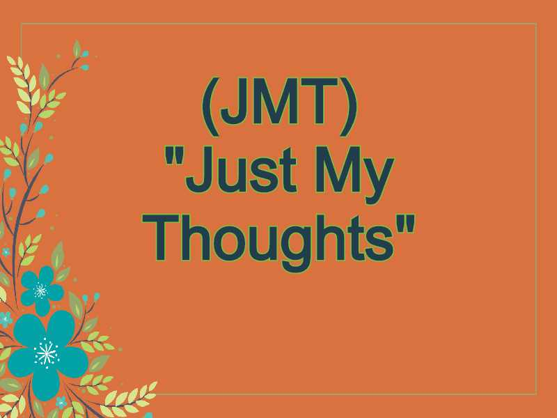 JMT Meaning in Snapchat,