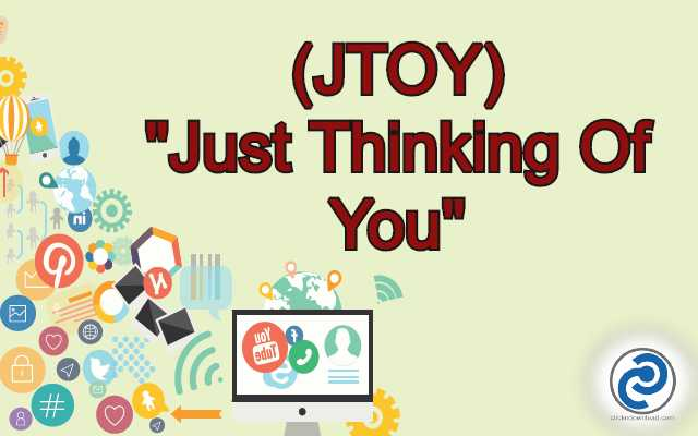 JTOY Meaning in Snapchat