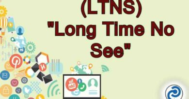 LTNS Meaning in Snapchat,