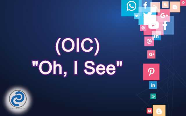 OIC Meaning in Snapchat,