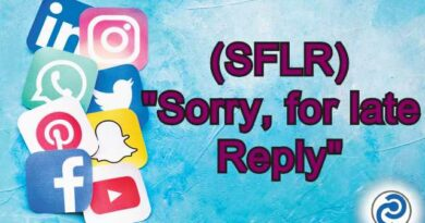 SFLR Meaning in Snapchat,
