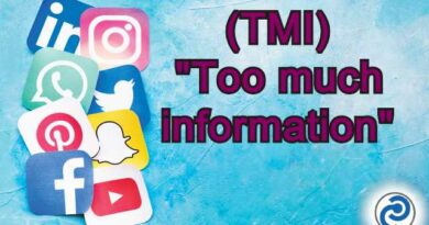 TMI Meaning in Snapchat,