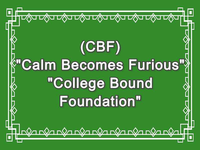 CBF Meaning in Snapchat,