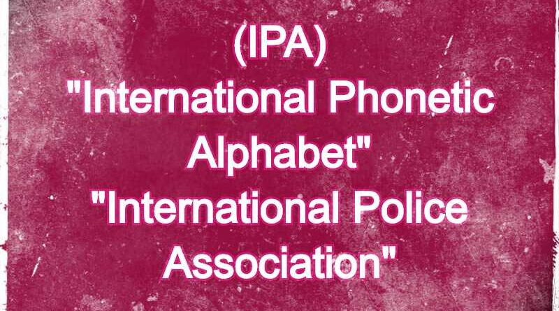 IPA Meaning in Snapchat,