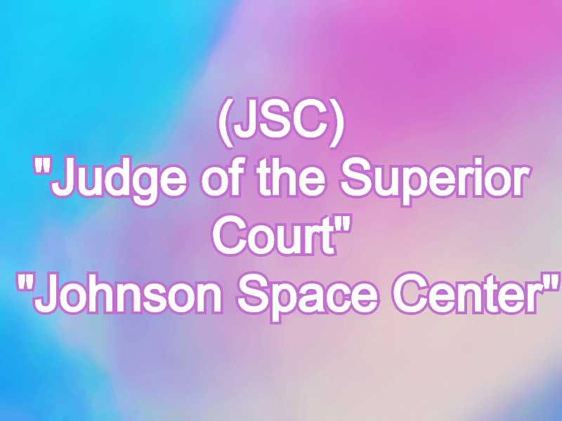 JSC Meaning in Snapchat,